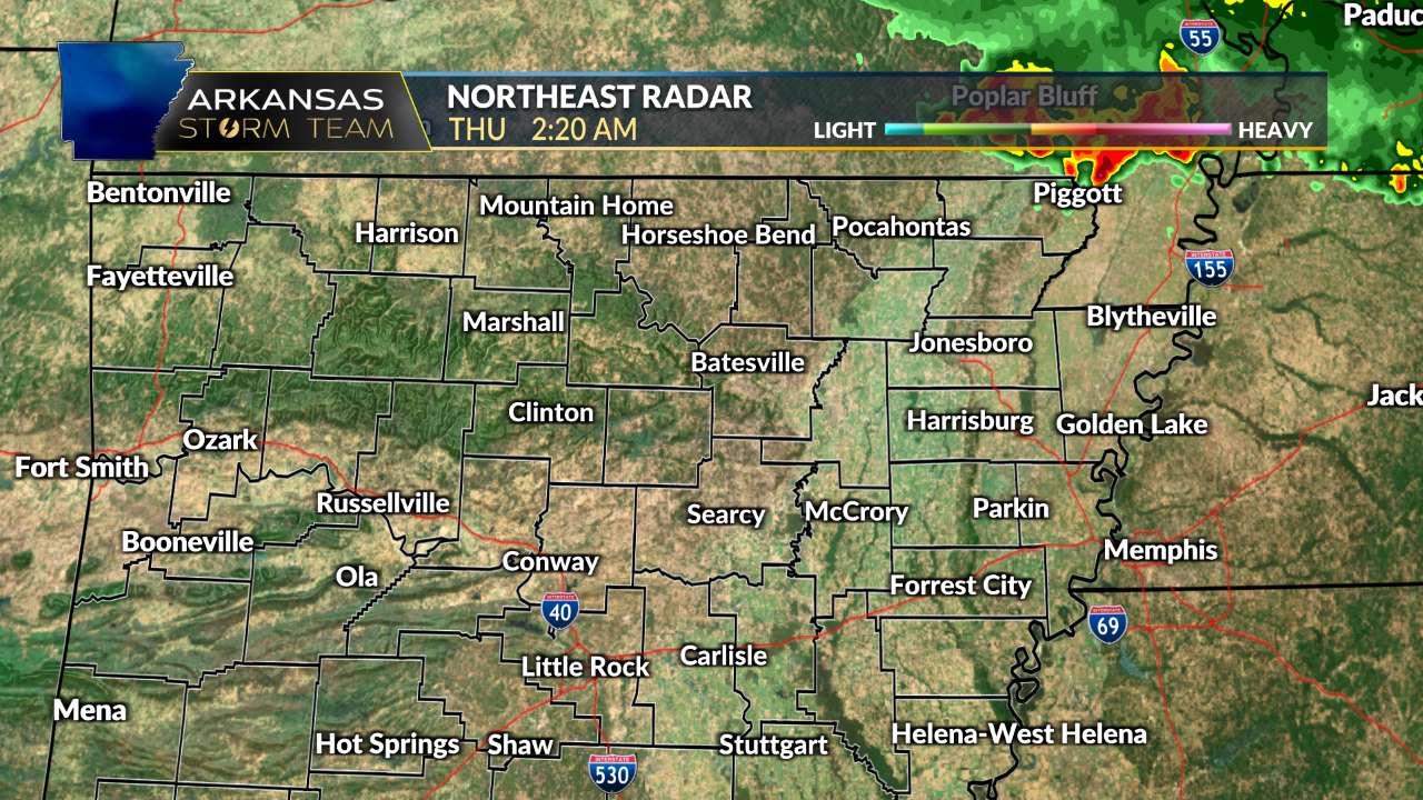 NE Arkansas Radar