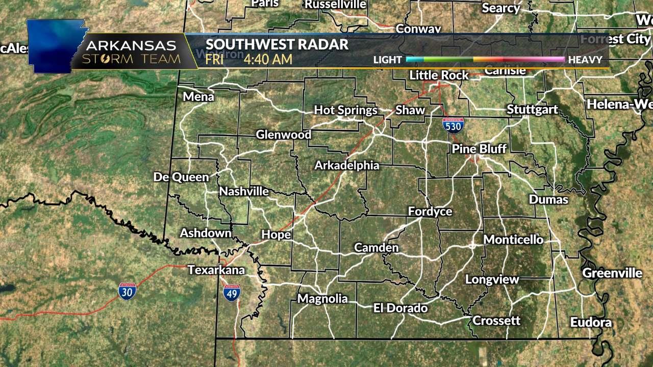 SW Arkansas Radar