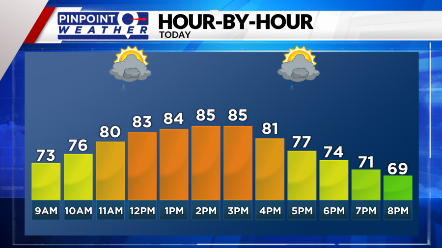 Day Planner Forecast