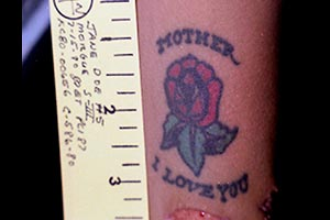 Tattoo 1 - Mother I Love You