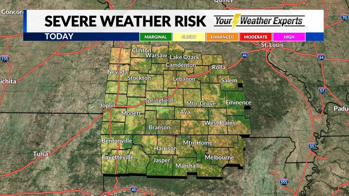 Severe Weather Risk Day 1