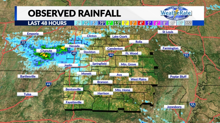 Observed Rainfall 24 Hours