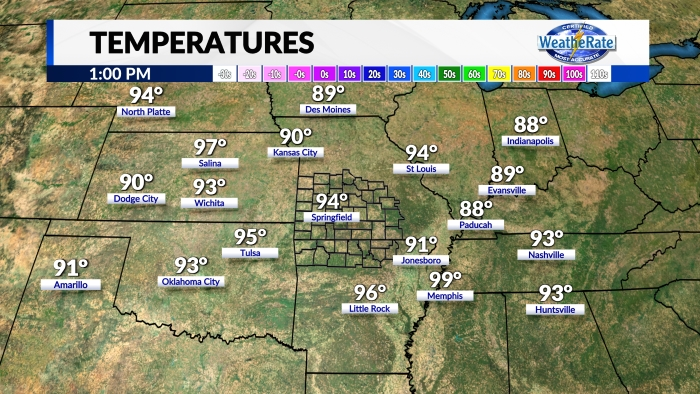 Temperatures Regional