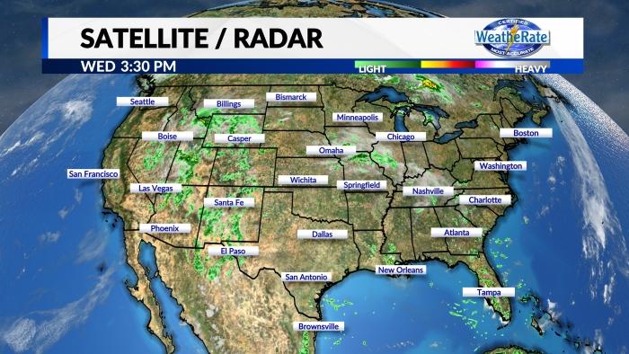 Satellite and Radar National