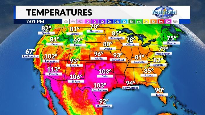 Temperatures National