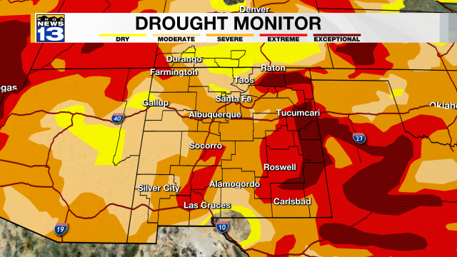 New Mexico Drought Monitor