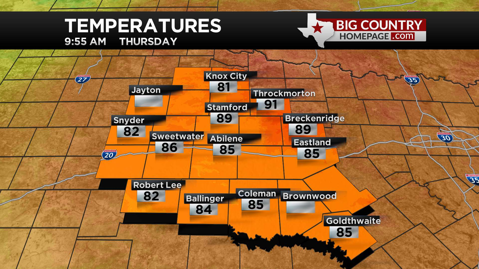 Big Country Temps