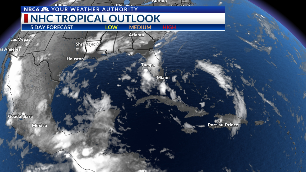 NHC Five Day Outlook