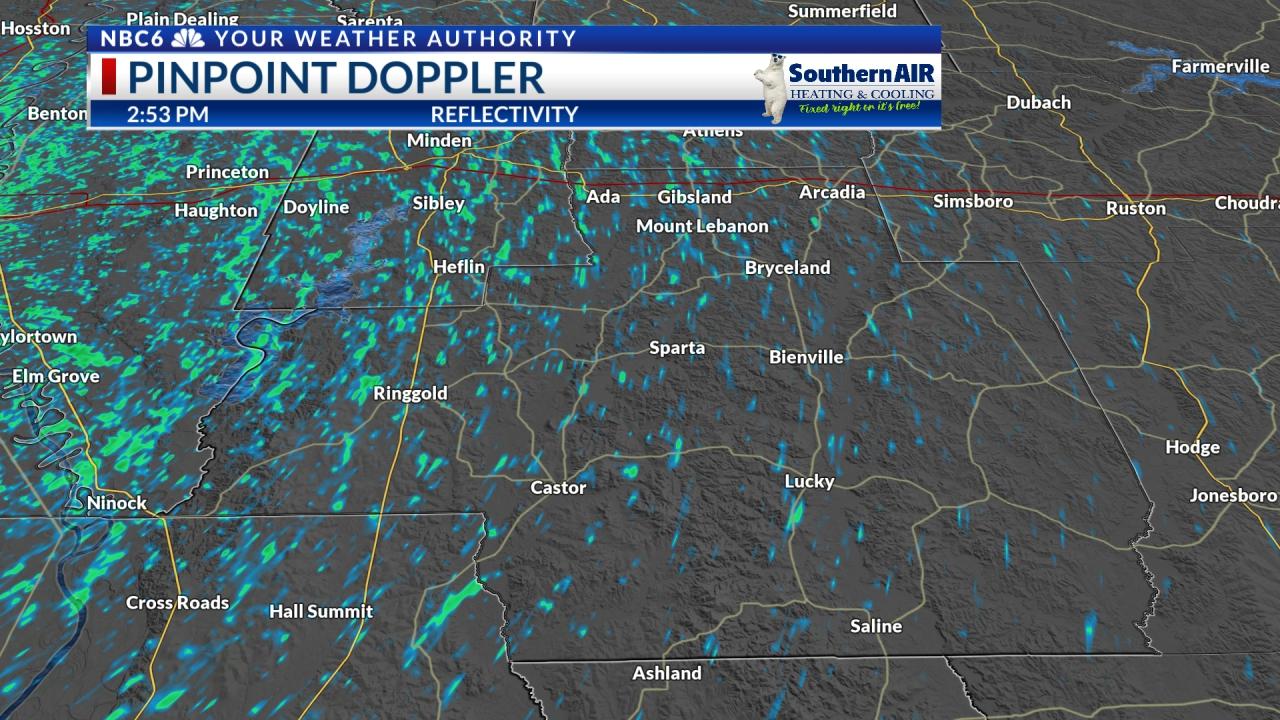 Pinpoint Doppler Bienville Parish