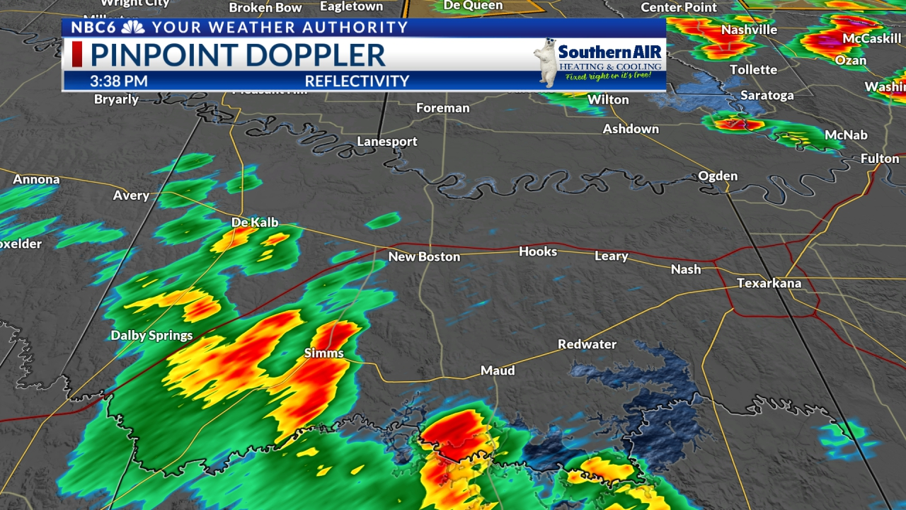 Pinpoint Doppler Bowie County