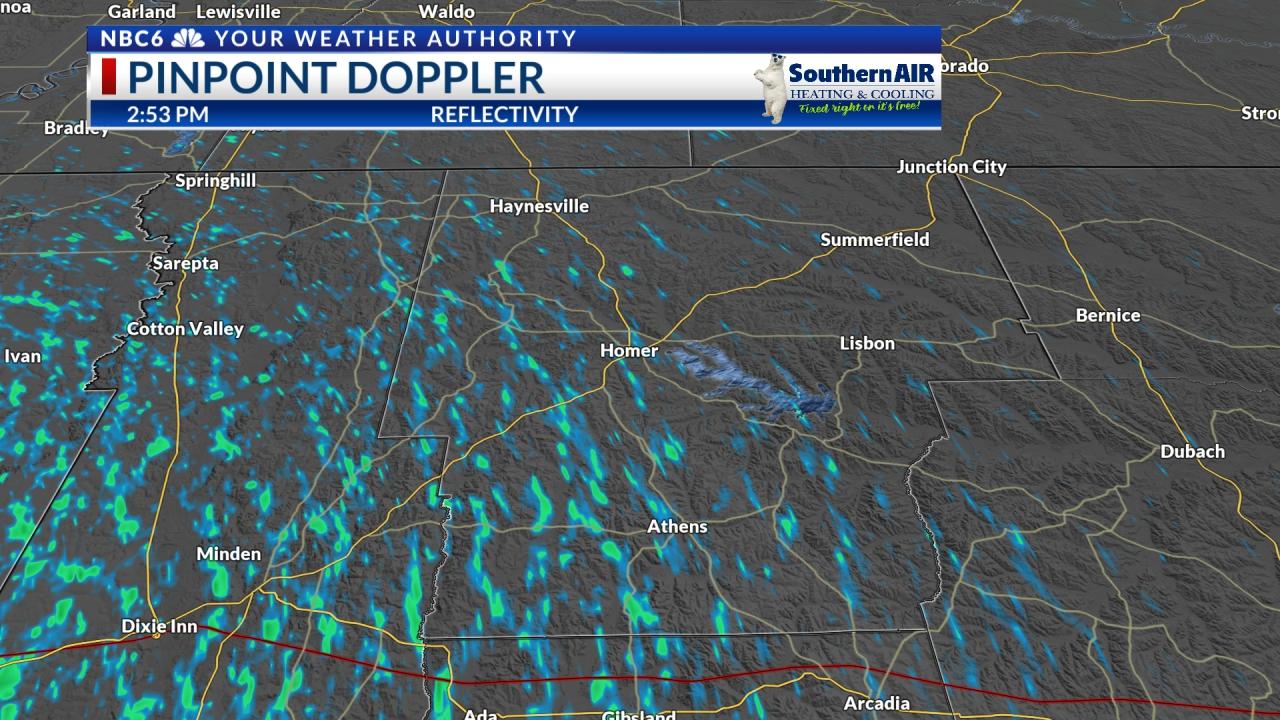 Pinpoint Doppler Claiborne Parish