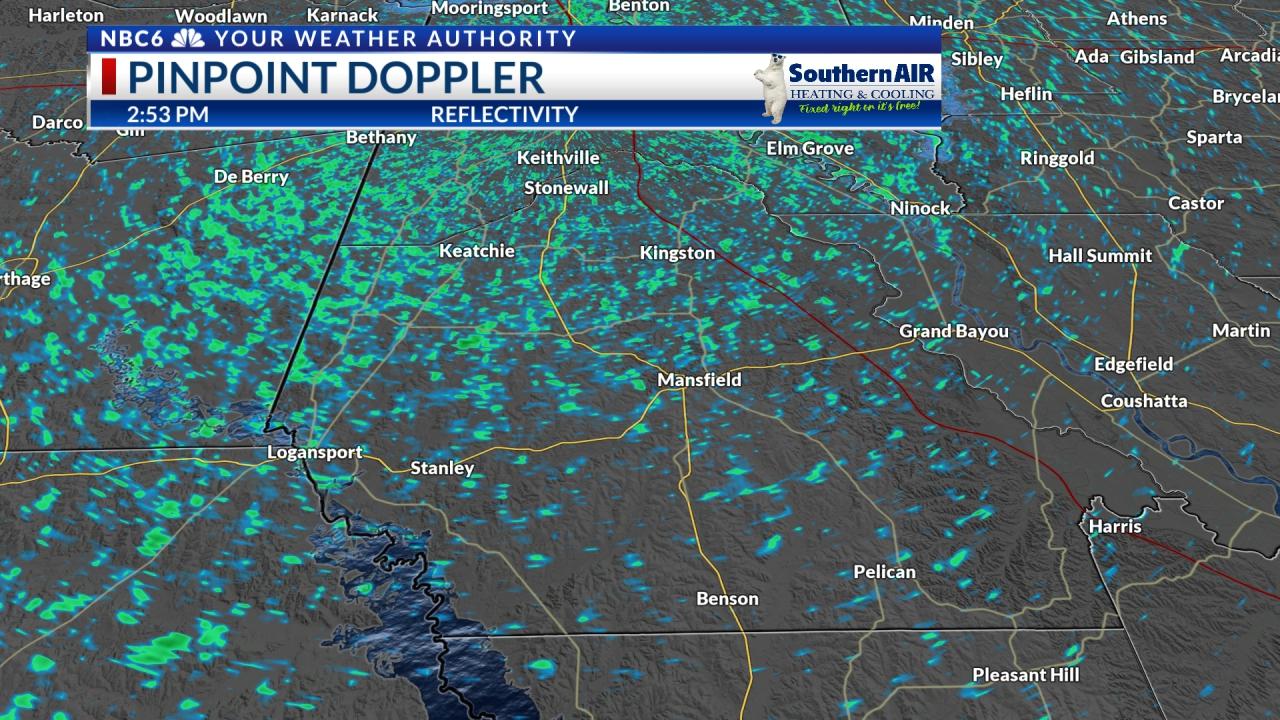 Pinpoint Doppler DeSoto Parish