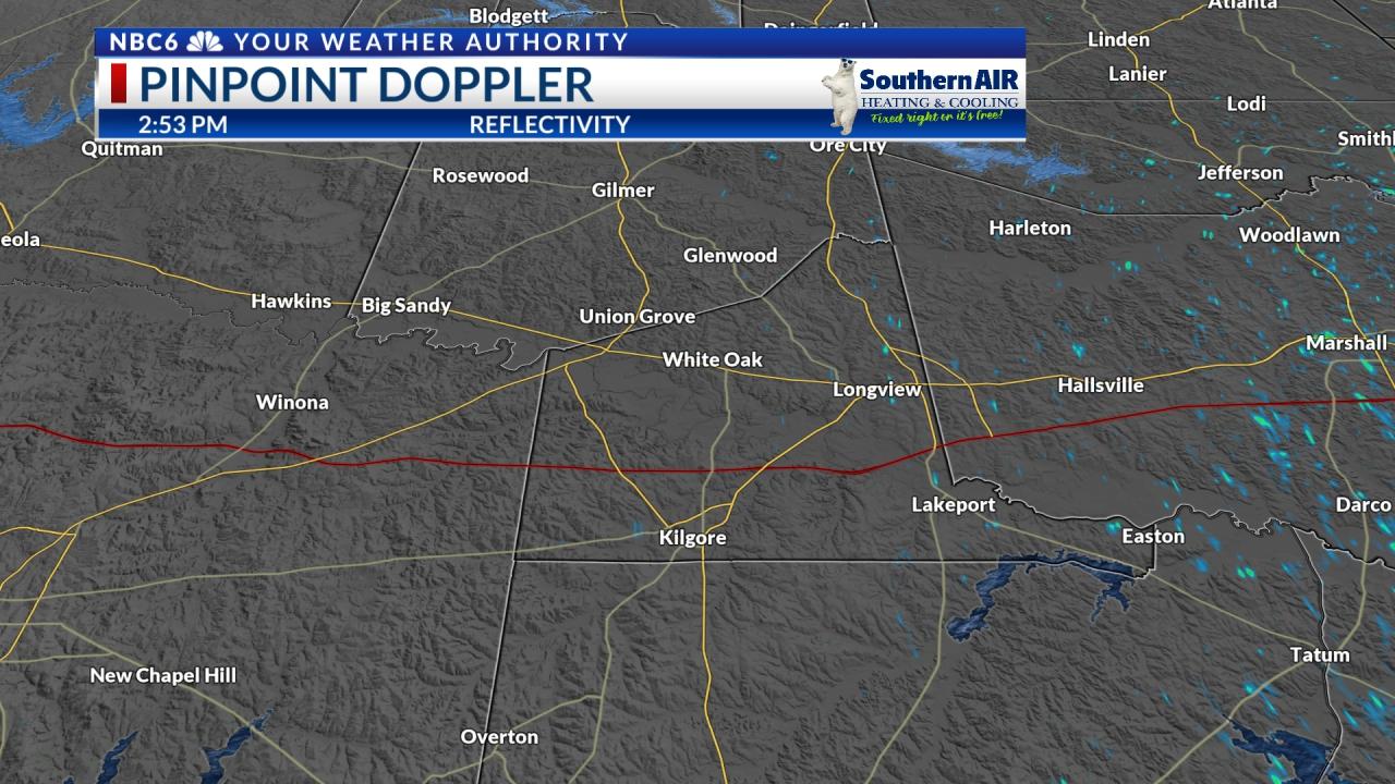 Pinpoint Doppler Gregg County