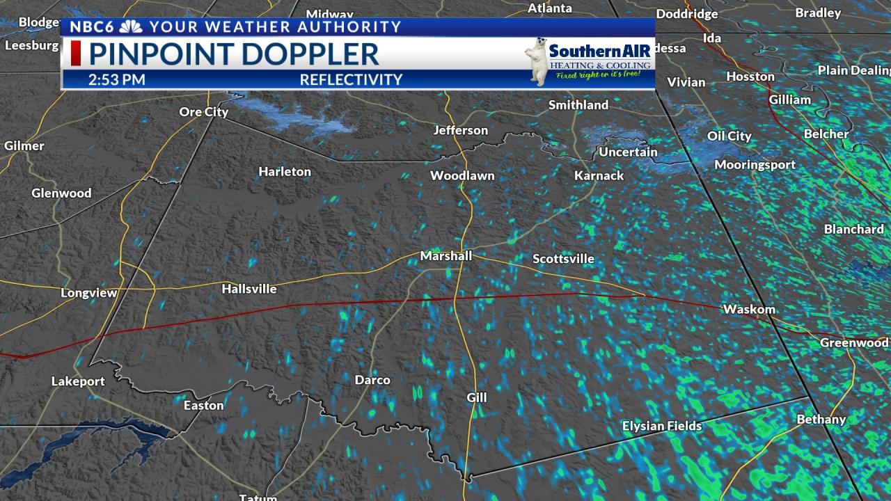 Pinpoint Doppler Harrison County