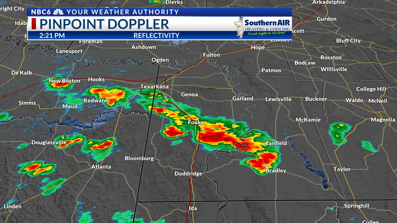 Pinpoint Doppler Miller County