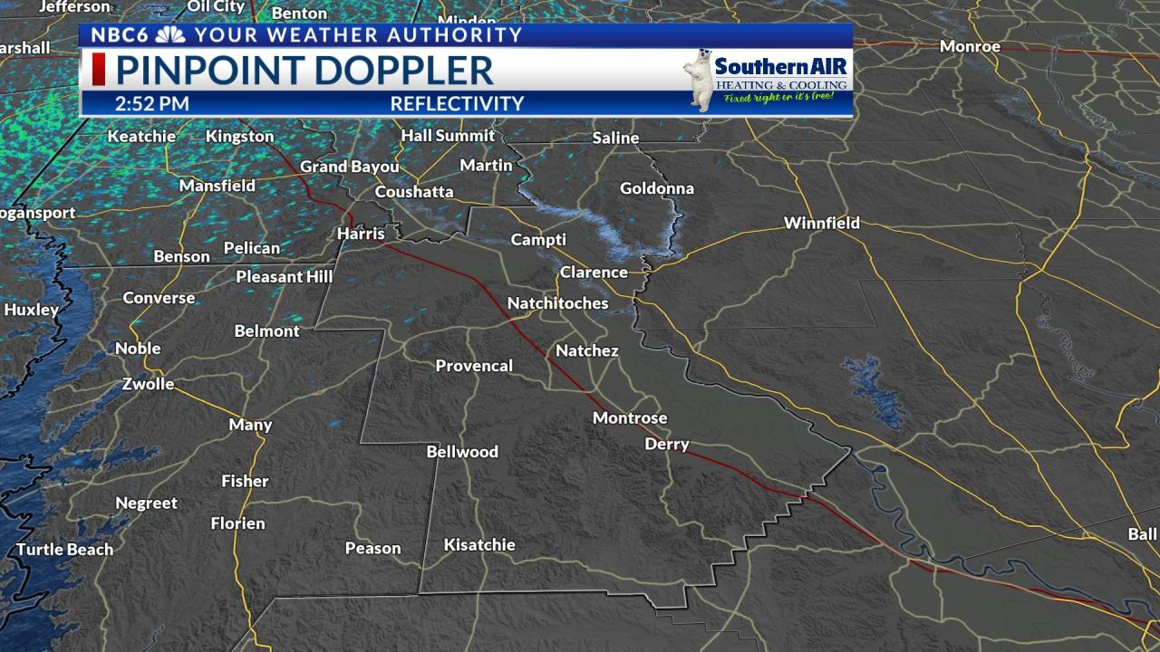 Pinpoint Doppler Natchitoches Parish
