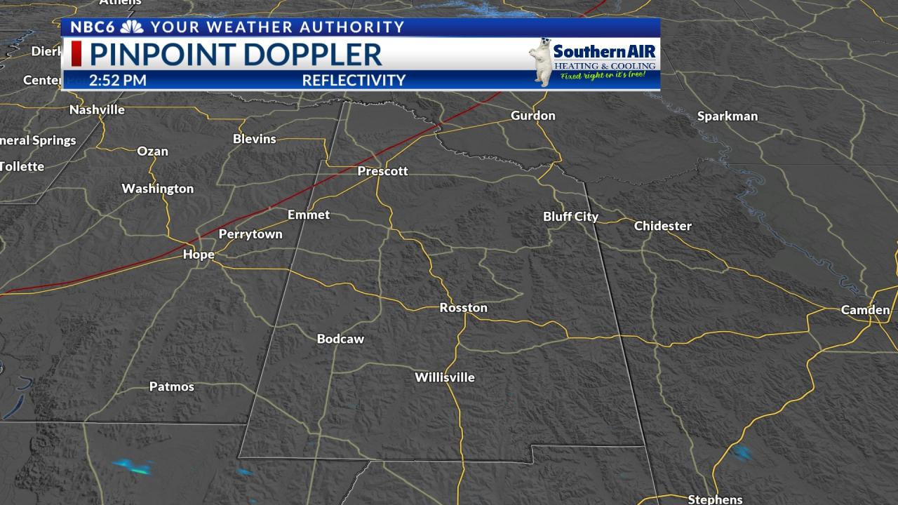 Pinpoint Doppler Nevada County