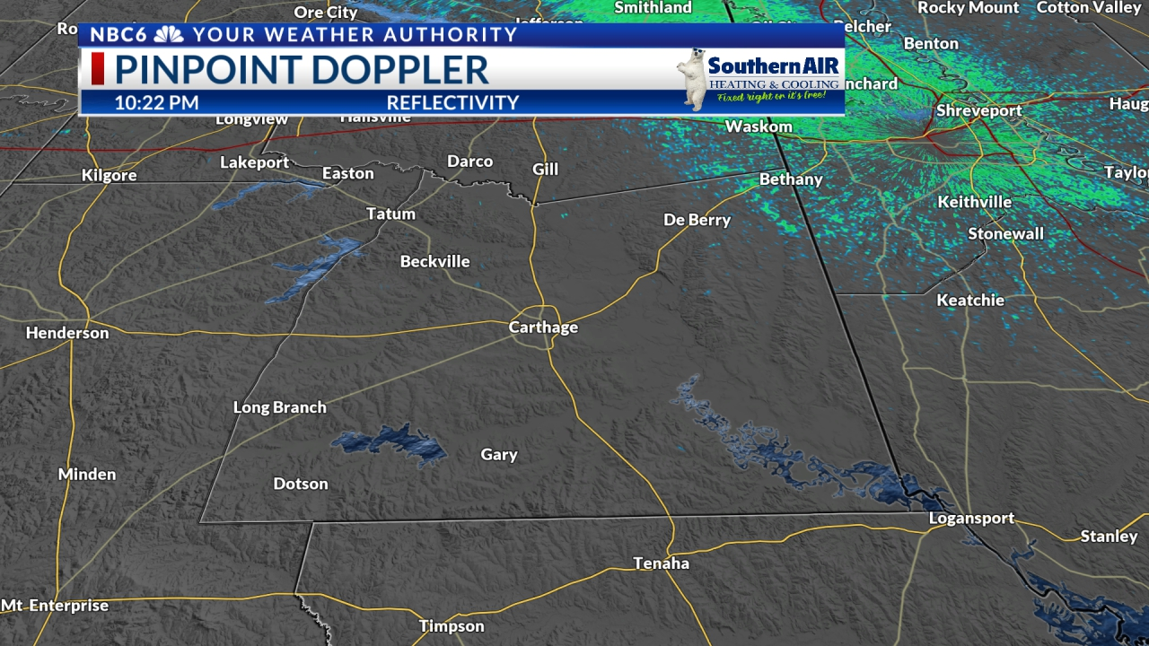Pinpoint Doppler Panola County