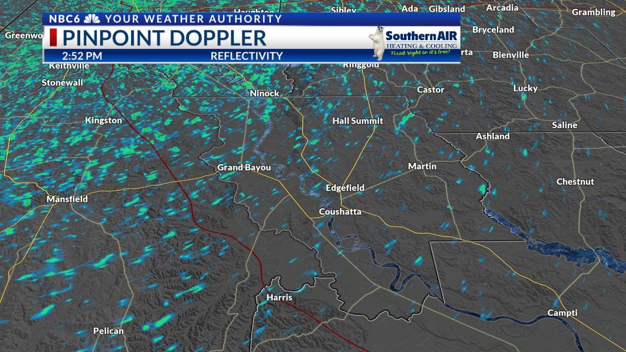 Pinpoint Doppler Red River Parish