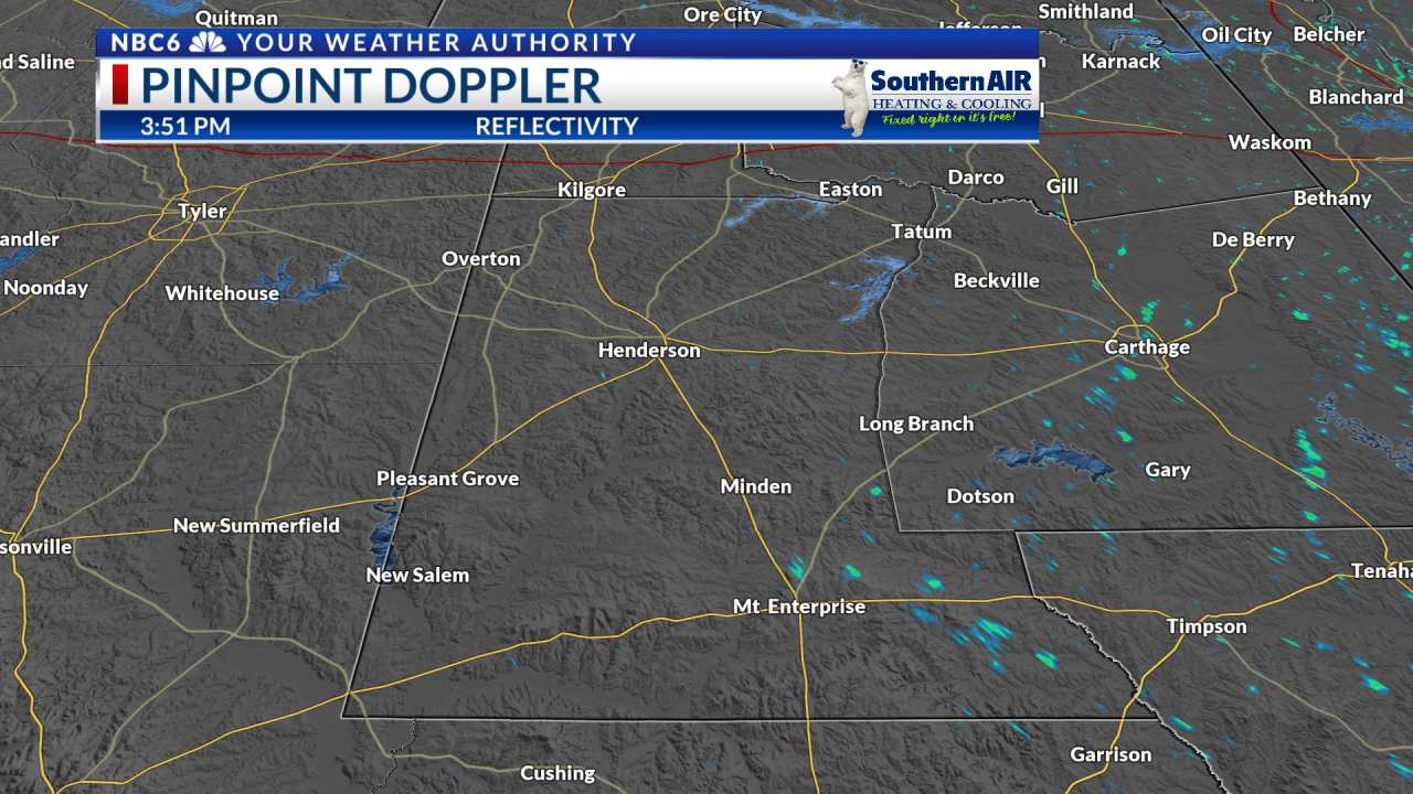 Pinpoint Doppler Rusk County