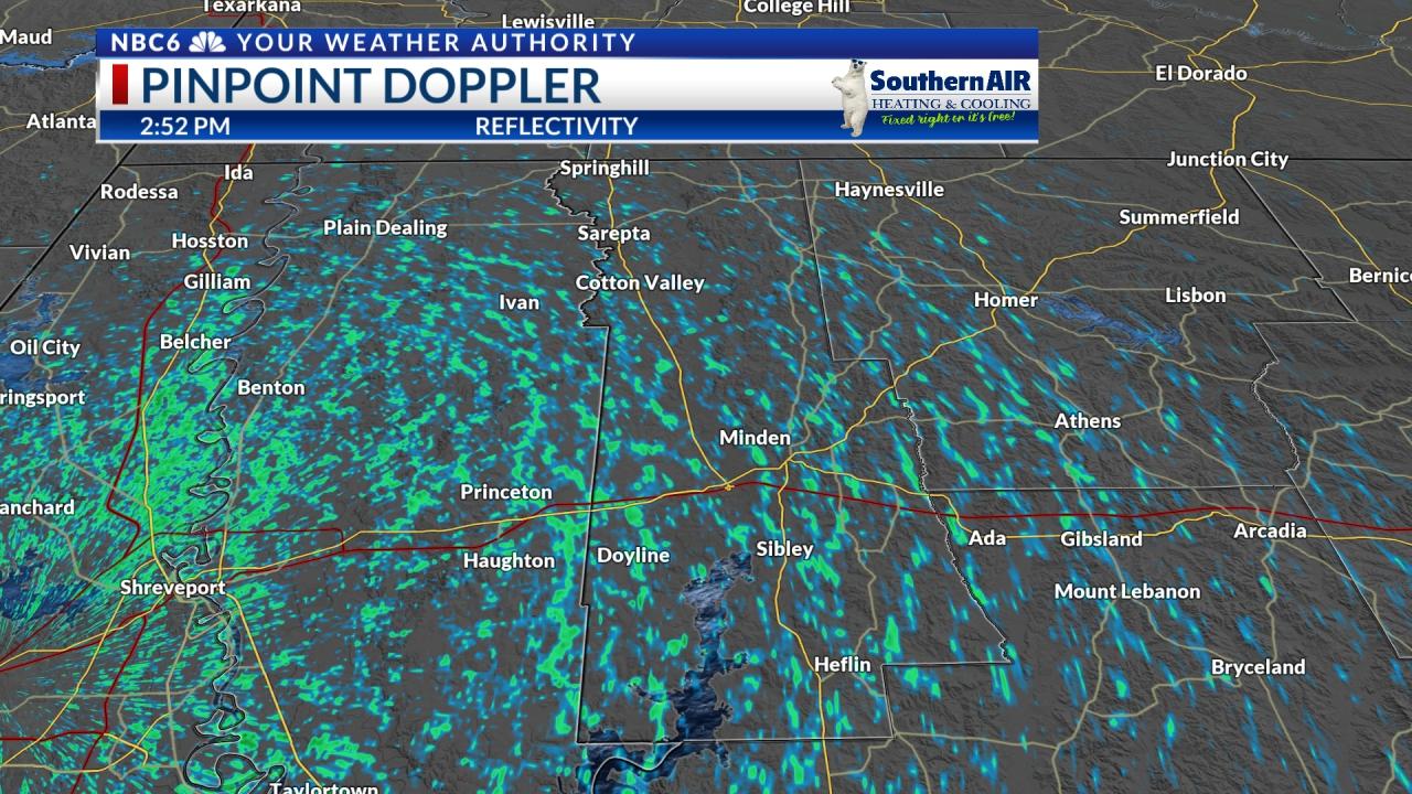 Pinpoint Doppler Webster Parish