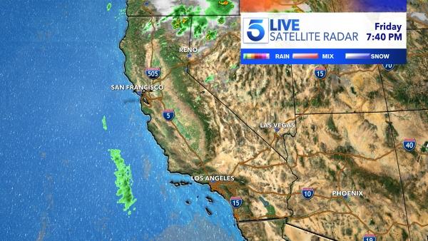 California Satellite Radar