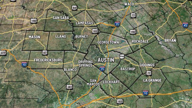 Austin Area Radar