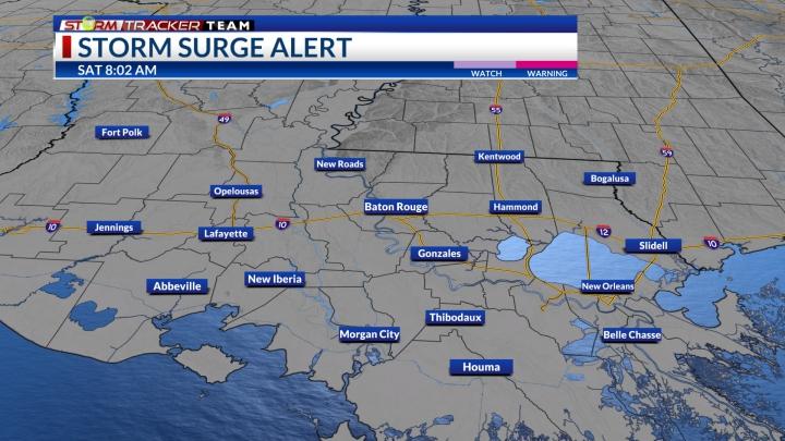 Storm Surge Warning