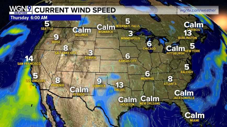 National Wind Speeds