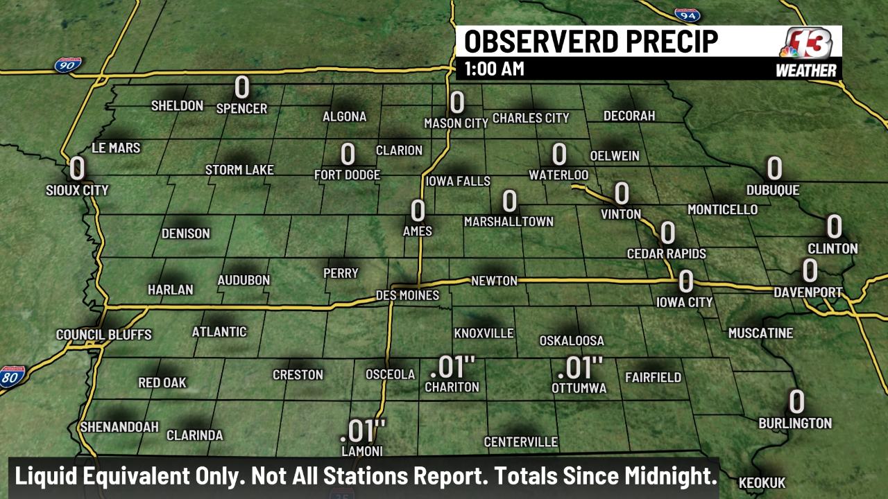 Observed Precipitation