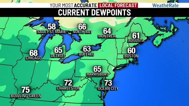 Northeast Dewpoint