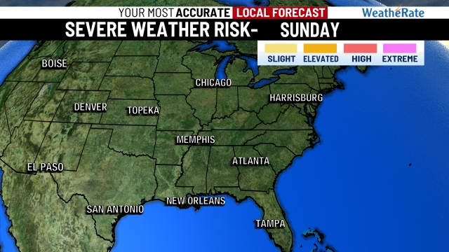 Severe Weather Risk - Day 1