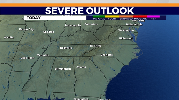 Severe Outlook - Today