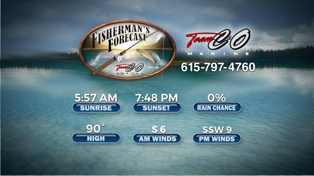 Tennessee Fishing Forecast