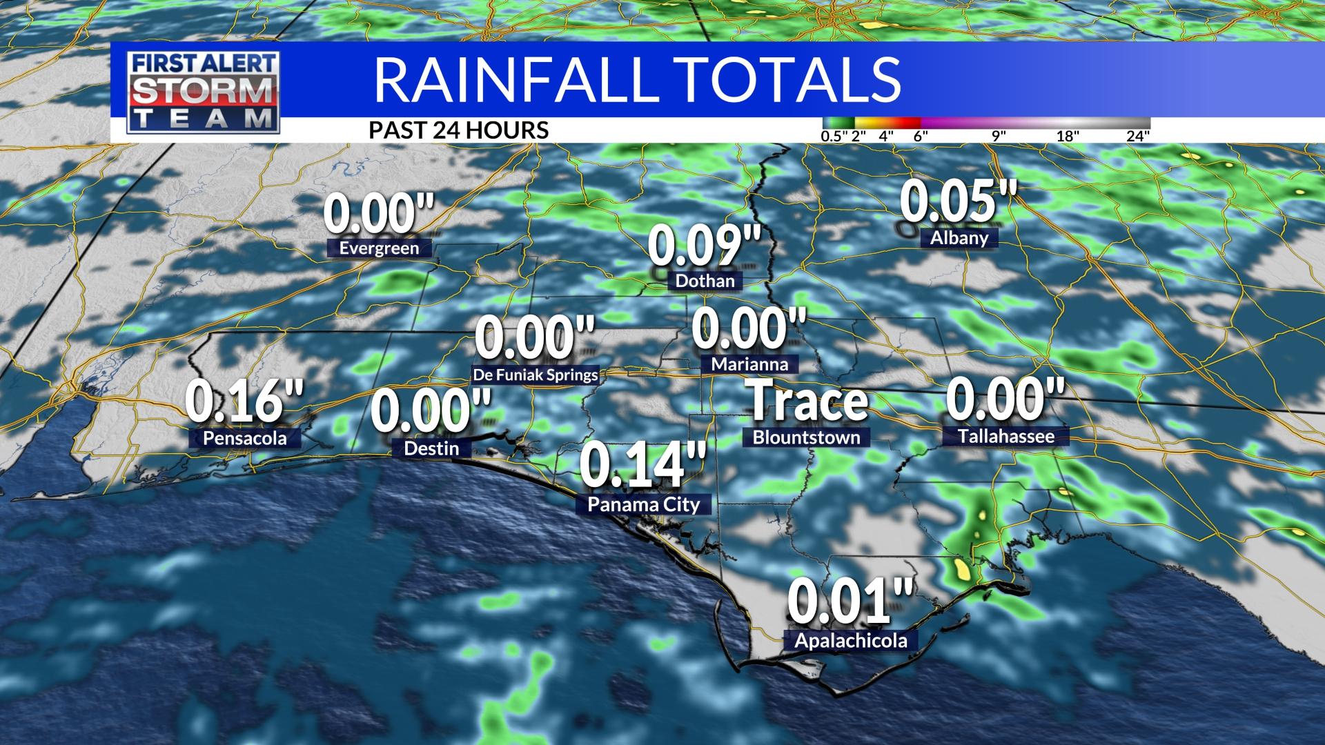 Rainfall Totals