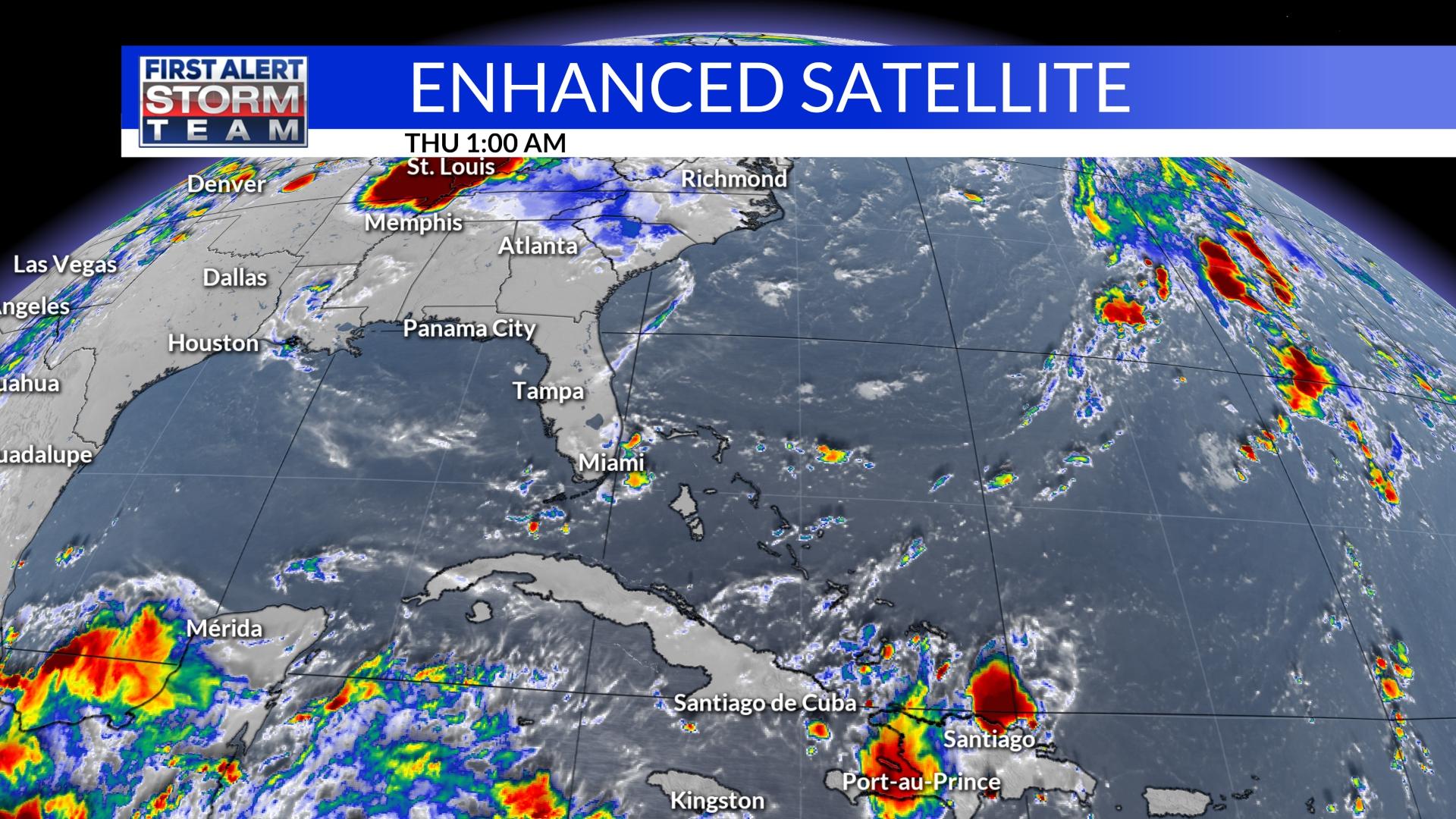 Tropics Enhanced Satellite