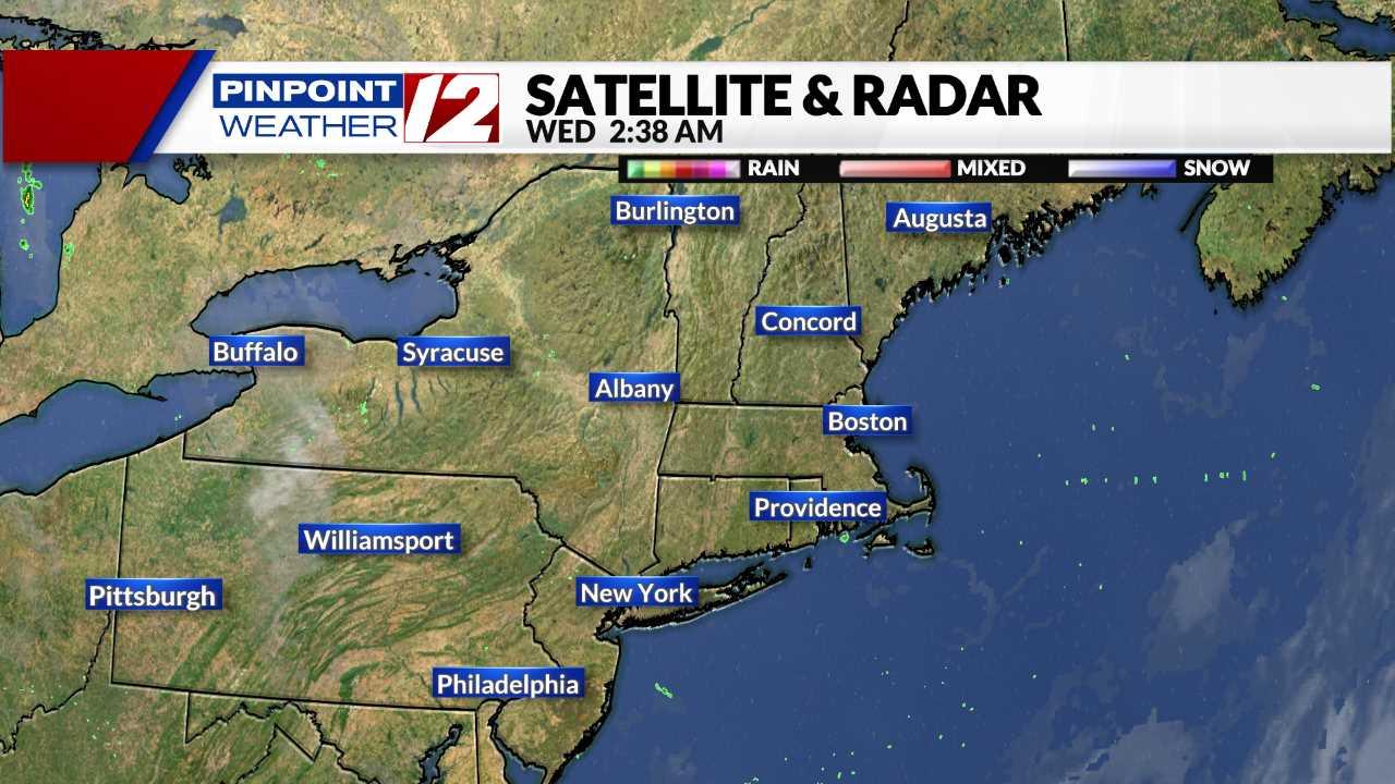 Live Satellite - New England
