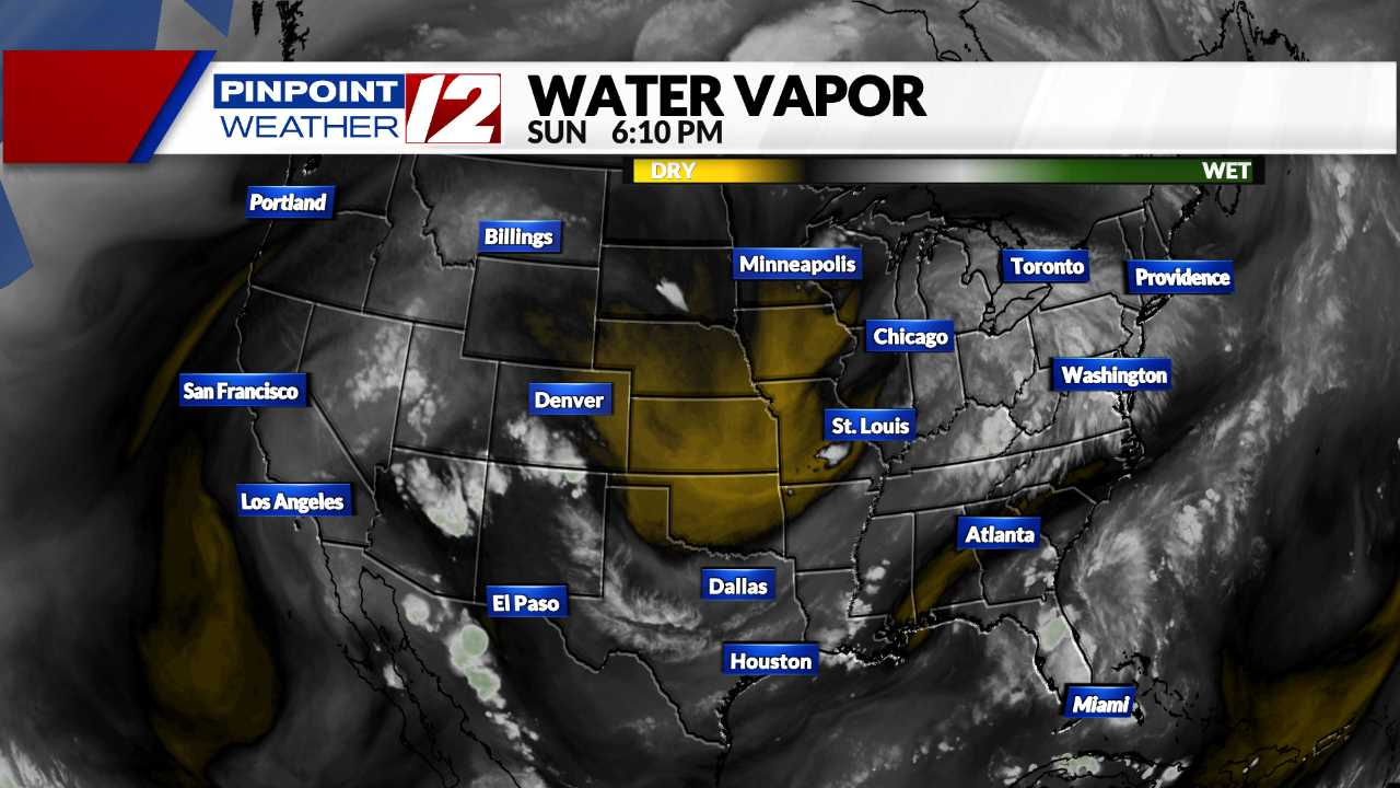 Water Vapor Satellite