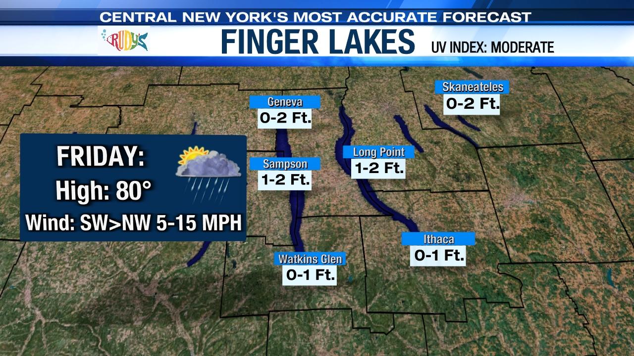 Finger Lakes Boating Forecast