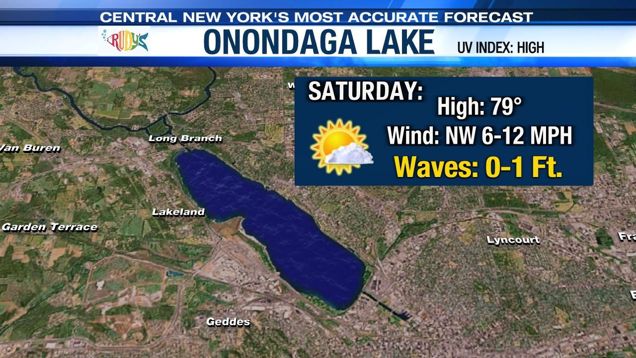 Onondaga Lake Boating Forecast